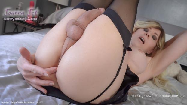 Joannajet.com- Me and You 453 - Black Lingerie, Pink Heels