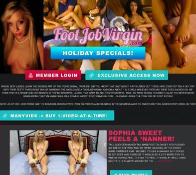 FootJobVirgin (SiteRip) Image Cover