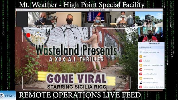 Wasteland.com- Going Viral. A XXX COVID A.I Thriller