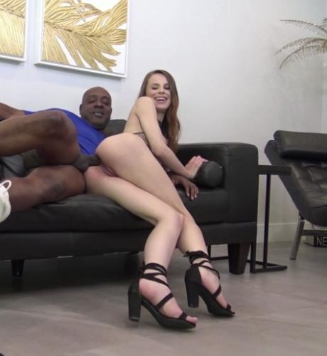 Blonde Beauty Jillian Janson Loves Big Black Cock