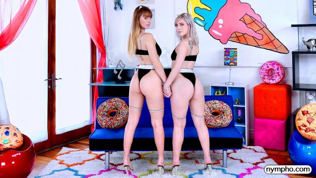 Nympho.com- Non-Stop Fucking with Angel And Jamie