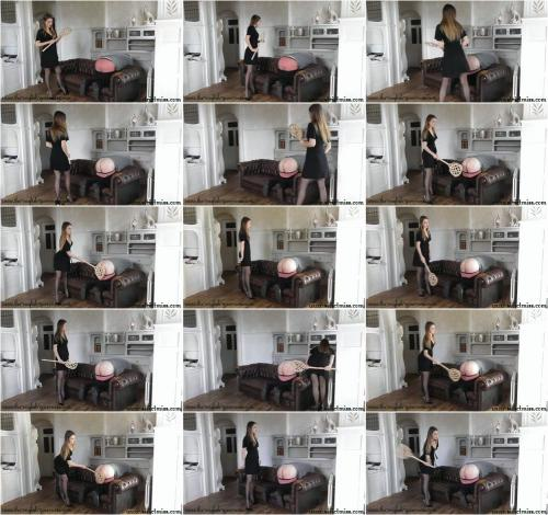 Only the carpet beater will teach you some discipline [FullHD 1080P]